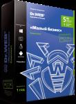 Коробка Dr.Web «Малый бизнес» 5ПК 1 Сервер 1 год